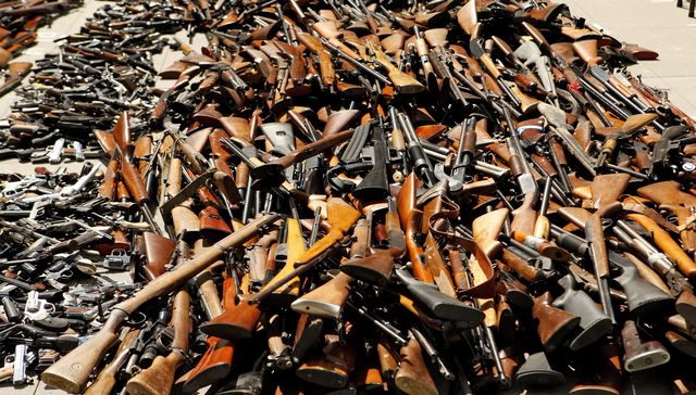 Seized and Surrendered Firearms – 2008 to 2016 Firearms Seized = 226,186 Firearms Surrendered = 102,789