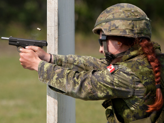In keeping with a longstanding tradition of Canadians being unusually good at shooting things, a Victoria reservist has claimed the title as one of the world's top military shooters. Sgt. Tatyana Danylyshyn outshot several hundred competitors to top her class at the Bisley shooting competition, an annual event in the U.K. that has been dubbed […]