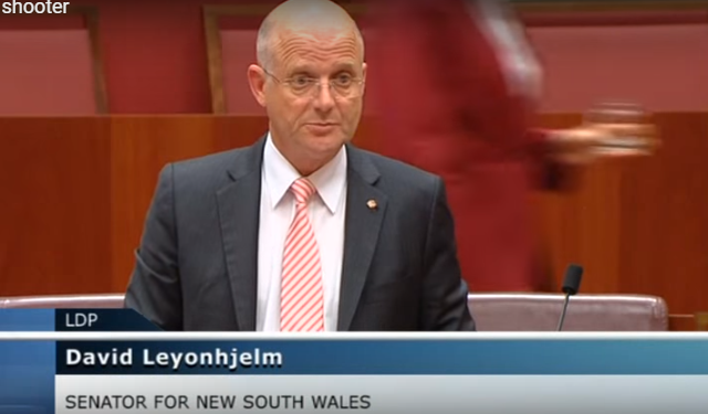 Australia: Sacked for being a sporting shooter Liberal Democrats (Australia) – Published on Nov 10, 2015 In this important speech, Senator Leyonhjelm tells the story of David Waters, a champion shooter sacked by Goodyear for participating… in the wrong kind of sport. David Leyonhjelm From Wikipedia, the free encyclopedia https://en.wikipedia.org/wiki/David_Leyonhjelm 0 0 votes Article Rating