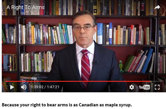 A RIGHT TO ARMS http://www.arighttoarms.com/ Canadians are passionately attached to their rights. Free speech, freedom of association, free and fair elections … and the right to bear arms. Lately that last one has been portrayed as somehow unCanadian, even sneered at as distinctly American. But actually it's a fundamental part of our heritage. PLEASE CLICK […]