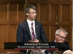 THIS BILL WAS INTRODUCED BY LIBERAL MP ARNOLD CHAN: http://achan.liberal.ca/ 0 0 votes Article Rating