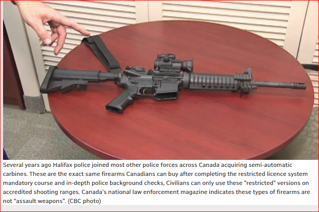 "THE GUN DEBATE IN CANADA: PT-2 – ""ASSAULT WEAPONS"""