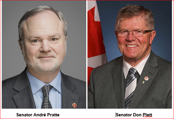 SENATORS DEBATE ATT AMENDMENTS IN BILL C-71