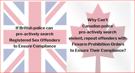 BRITISH POLICE CAN. CANADIAN POLICE CAN'T – PITY