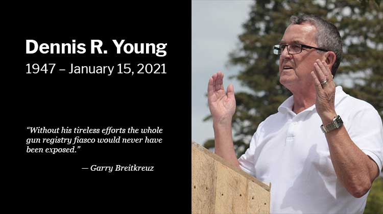 Dennis R. Young, Canada's foremost firearms researcher, passed into glory on the evening of January 15, 2021, after a second lengthy battle with cancer. Dennis is survived by his wife Hazel, their children Jennifer and Steven, and their three grandchildren, and his brothers Kim Young and Gordon Young, sisters Ardyth Tait and Merle Lynn Watson. […]