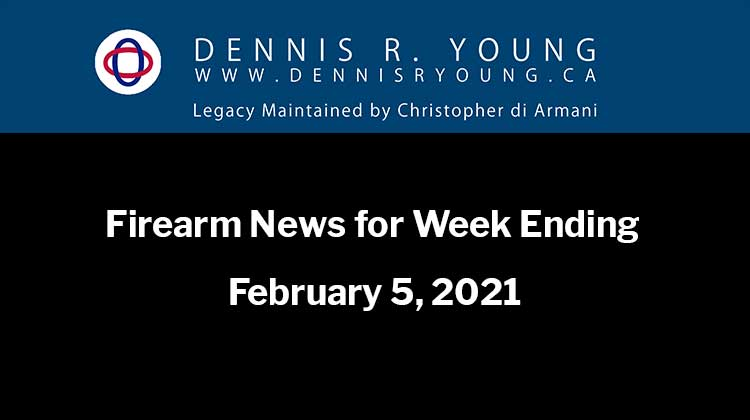 A collection of firearm-related news stories for the week ending February 5, 2021. 0 0 votes Article Rating