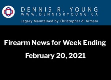 National and International Gun Control News for the week ending 2021-01-20