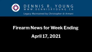 National and International Gun Control News for the week ending April 17, 2021