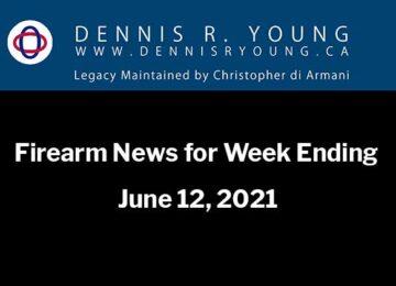 National and International Gun Control News for the week ending June 12, 2021